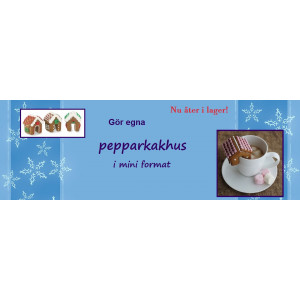 Banner-pepparkakshus