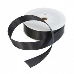 Black, kantband - höjd 2,5 cm (metervara)
