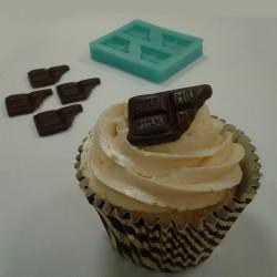 Chokladkaka,  silikonform