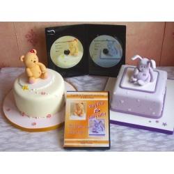 Teddy Bear & Cuddly Rabbit, DVD (2 st)