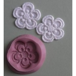 Lace Blossom, silikonform