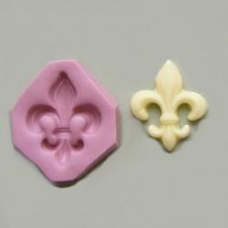 Fransk lilja, liten (silikonform)