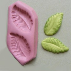 Leaf Duo, silikonform
