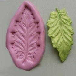 Blad, silikonform