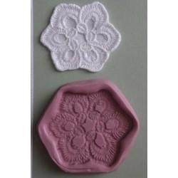 Lace Madeline (liten), silikonform