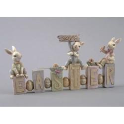 Happy Easter, bordsskylt