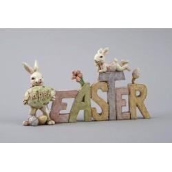 Easter, bordsskylt