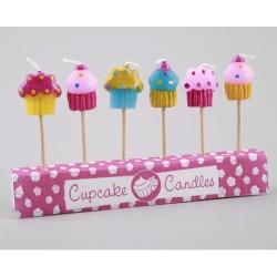 Cupcakes, 6 tårtljus