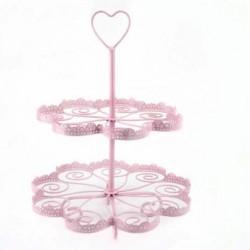 Pink Heart, muffinsträd (metall)