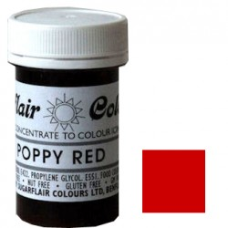 Röd, pastafärg (Poppy Red - SC)