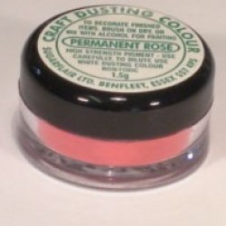 Craft Dusting Colours, Permanent Rose