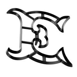 Bokstaven E, utstickare