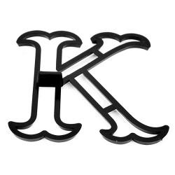 Bokstaven K, utstickare