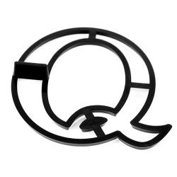 Bokstavsutstickare, Q