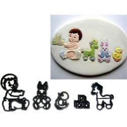 Bebis m leksaker, 5 delar