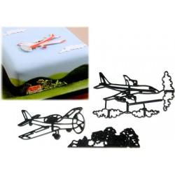 Flygplan, utstickare (6 delar)