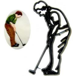 Golfspelare, markör/utstickare