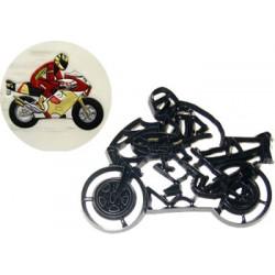 Motorcykel, utstickare/embosser