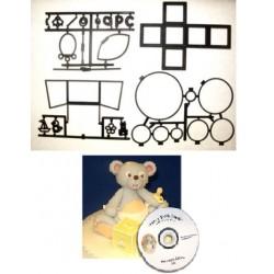 Teddy 3D, utstickare och DVD