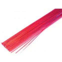 Metallic-tråd Röd, 24G
