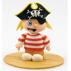 Pirat, tårtdekoration