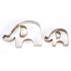 Elefant, 4 utstickare (Culpitt)