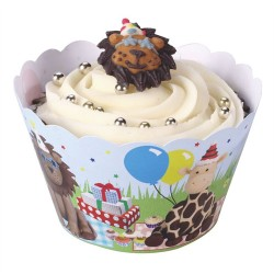 Animal Kingdom, cupcake wraps