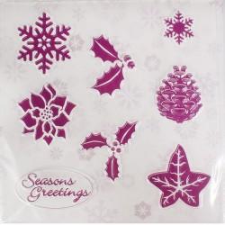 Jul, mönsterformar