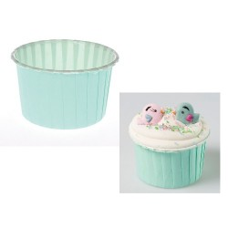 Pastellgrön, 24 st muffinskoppar