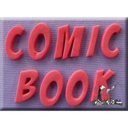 Comic Book Font (bokstäver), silikonform