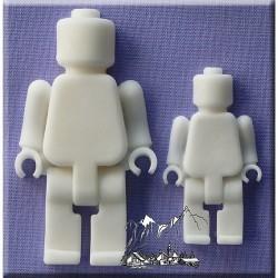 Legogubbar, silikonform (A. Mould)