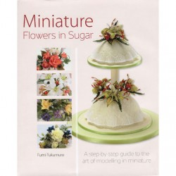 Miniature Flowers in Sugar, bok