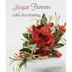 Sugar Flowers for cake decorating, bok