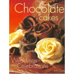 Chocolate cakes for Weddings and Celebrations, bok