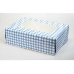 Tant Rut (blå), ask för 6 muffins (2 st)