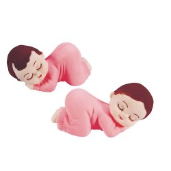 Bebisar, 2 st rosa