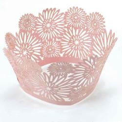 Dahlia Pink, cupcake wraps