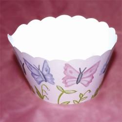 Fjärilar, cupcake wraps