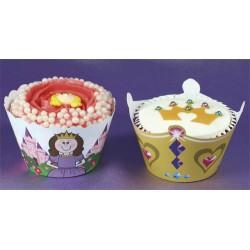 Prinsessor, cupcake wraps