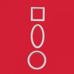 Geometriska utstickare, 10 st