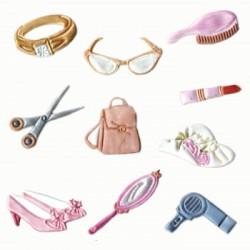 Accessoarer för kvinnor, 2 delar