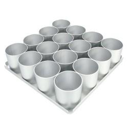 Bakform, 16 portionstårtor