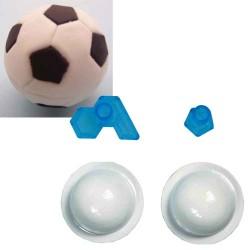 Fotboll, formar o utstickare