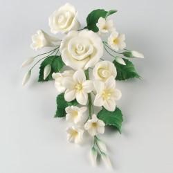 Rosbukett, dekoration