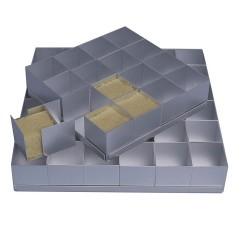 Bakform- Kvadrat, portionstårtor