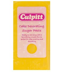 Sugarpaste, yellow 250g (Culpitt)