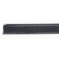Metallic-tråd, svart (24G)