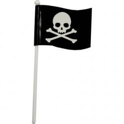Piratflagga, 6 st muffinsflaggor