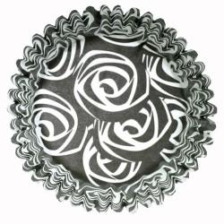 Roses Black, 54 st muffinsformar