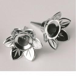 Ljushållare, silver (5 st)